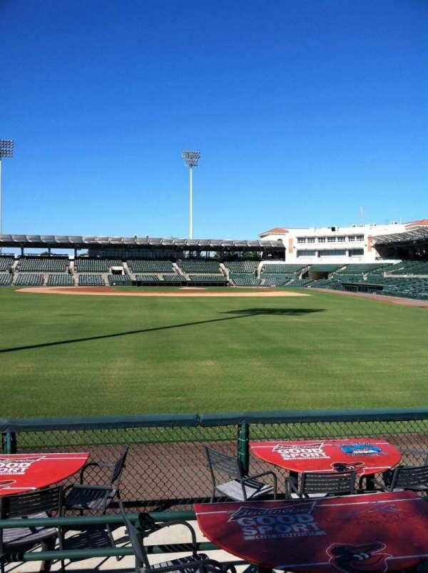 Ed Smith Stadium, secção: 128