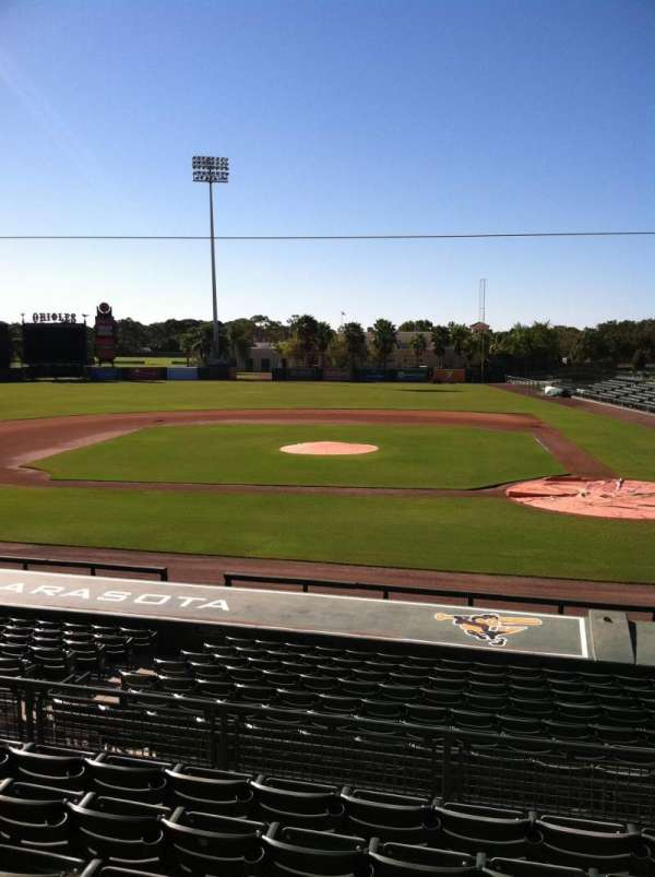 Ed Smith Stadium, secção: 216, fila: 7, lugar: 12