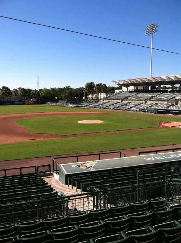 Ed Smith Stadium, secção: 219, fila: 7, lugar: 12