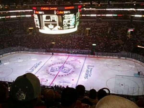 Staples Center, secção: 317, fila: 7, lugar: 2