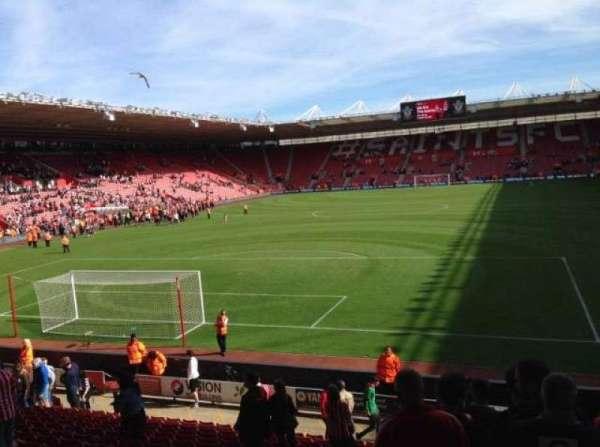 St Mary's Stadium, secção: Block 42, fila: W, lugar: 1009