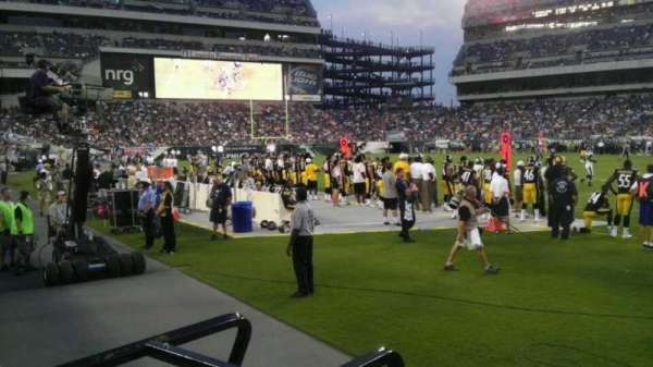 Lincoln Financial Field, secção: 123, fila: 1, lugar: 7