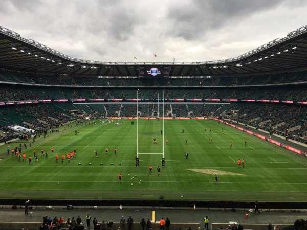 Twickenham Stadium, secção: M45, fila: 59, lugar: 196
