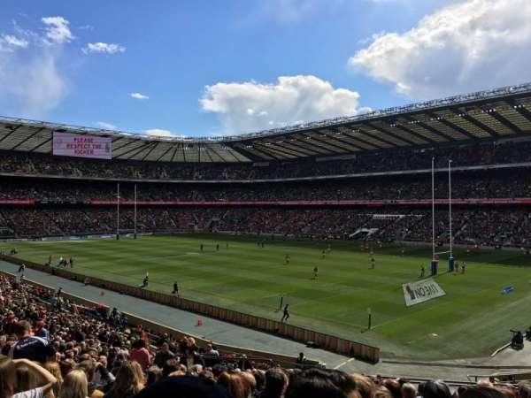 Twickenham Stadium, secção: L20, fila: 37, lugar: 31
