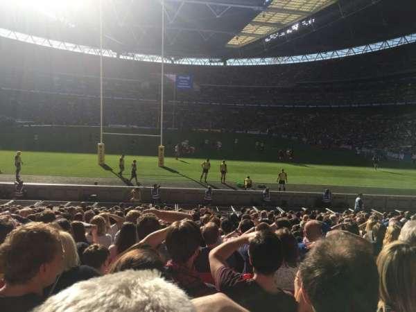 Wembley Stadium, secção: 111, fila: 20, lugar: 263
