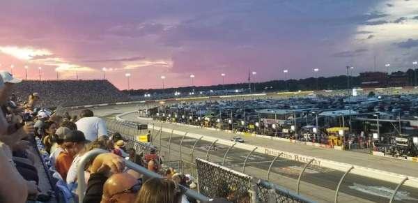 Darlington Raceway, secção: Tyler Tower F, fila: 5, lugar: 17