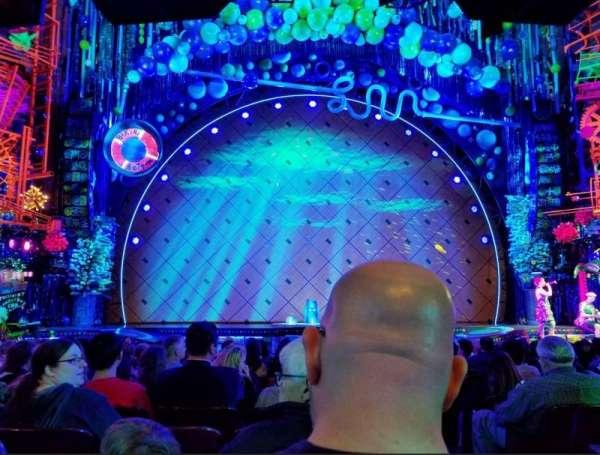 Palace Theatre (Broadway), secção: ORCH, fila: O, lugar: 101