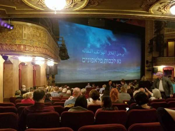 Ethel Barrymore Theatre, secção: Orchestra L, fila: O, lugar: 21