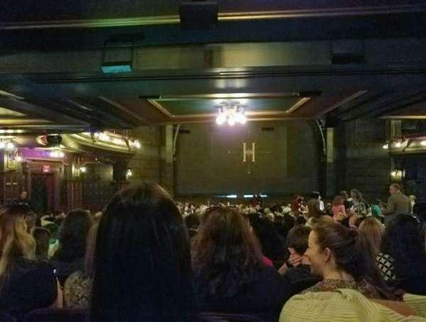 Lyric Theatre, secção: Orchestra L, fila: Y, lugar: 17