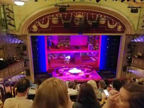 Booth Theatre, secção: Mezzanine C, fila: G, lugar: 102
