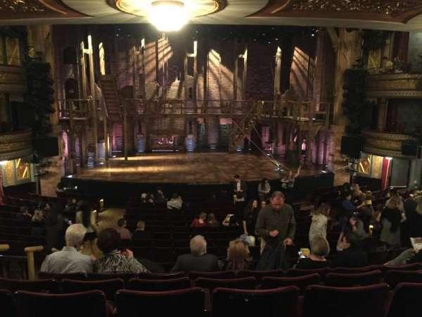 Richard Rodgers Theatre, secção: Orchestra C, fila: S, lugar: 113