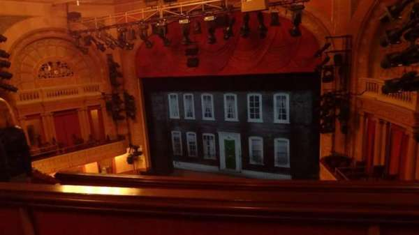 Ethel Barrymore Theatre, secção: Rear Mezzanine, fila: B, lugar: 16
