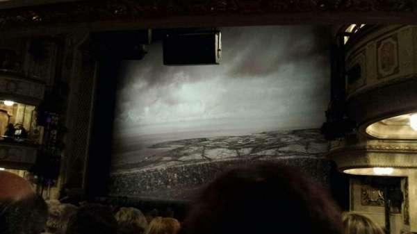 Cort Theatre, secção: Orchestra R, fila: M, lugar: 20