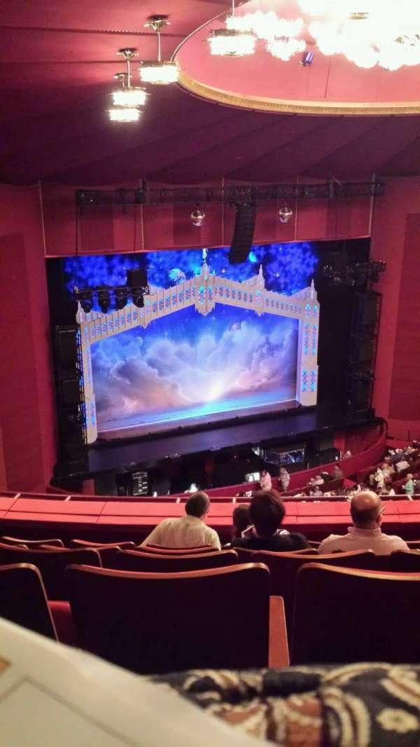 The Kennedy Center Opera House, secção: 2nd Tier, fila: F, lugar: 131