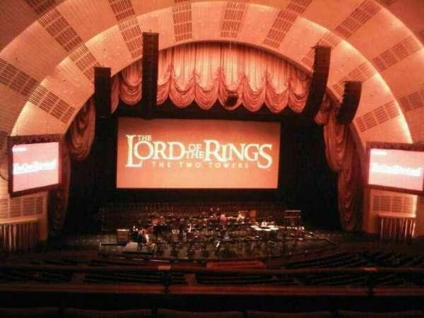 Radio City Music Hall, secção: 2nd Mezzanine 5, fila: D, lugar: 510