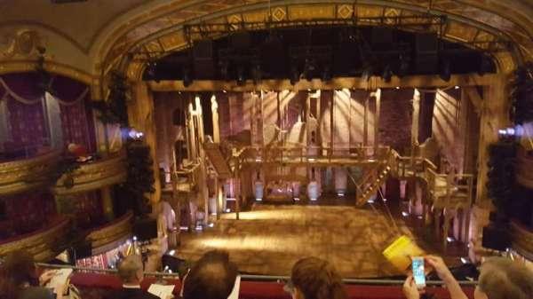 Richard Rodgers Theatre, secção: Front mezzanine c, fila: E, lugar: 107