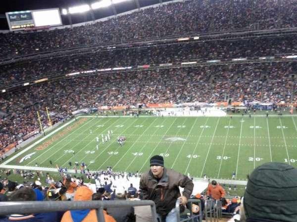 Empower Field at Mile Stadium, secção: 505, fila: 21, lugar: 26