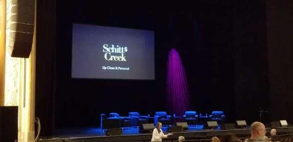 Paramount Theatre (Seattle), secção: MF4, fila: U, lugar: 8