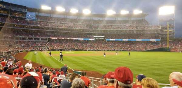 Nationals Park, secção: 137, fila: u, lugar: 22
