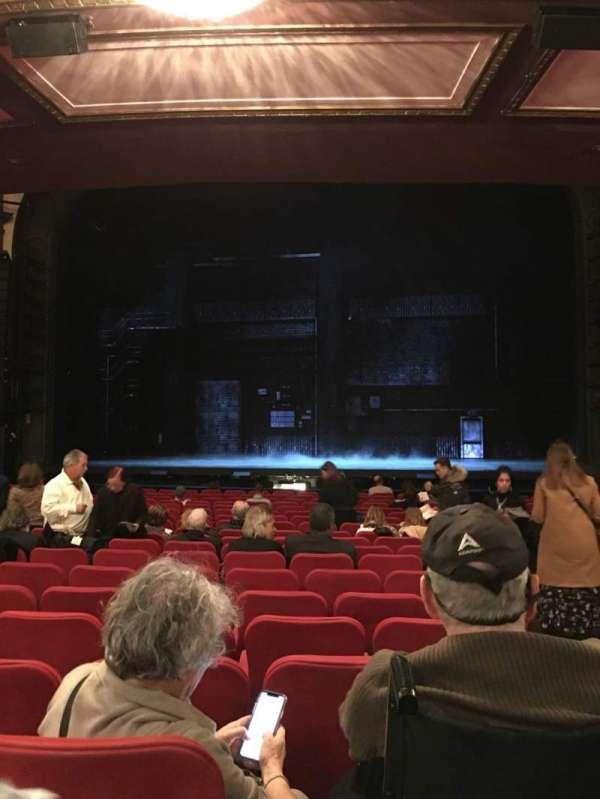 Broadway Theatre - 53rd Street, secção: Orchc, fila: S, lugar: 101