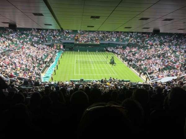 Wimbledon, Centre Court, secção: 511, fila: ZB, lugar: 210