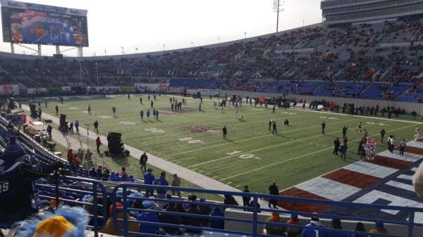Liberty Bowl Memorial Stadium, secção: 116, fila: 27, lugar: 18