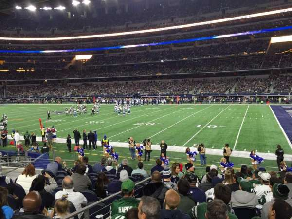 AT&T Stadium, secção: 129, fila: 11, lugar: 15