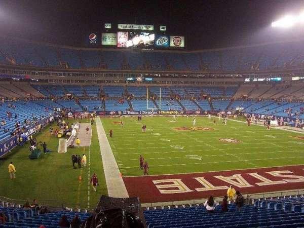 Bank of America Stadium, secção: 233, fila: 9, lugar: 1