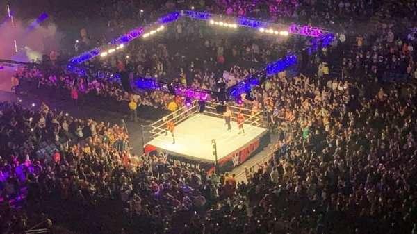 The O2 Arena, secção: 407, fila: U, lugar: 600