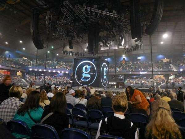 Allstate Arena, secção: Floor