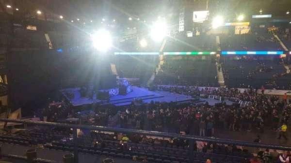 Allstate Arena, secção: 203, fila: C, lugar: 8