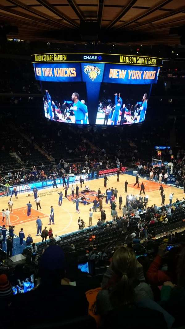 Madison Square Garden, secção: 211