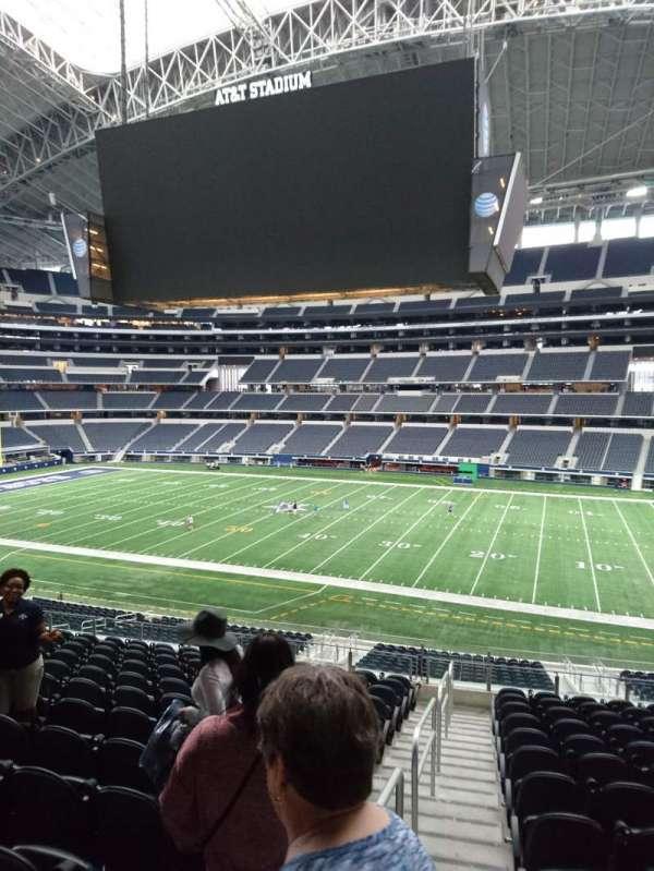 AT&T Stadium, secção: C108, fila: 15, lugar: 21