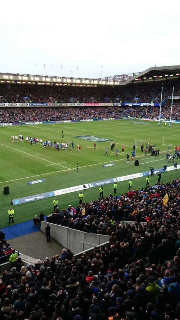 Murrayfield Stadium, secção: West 36
