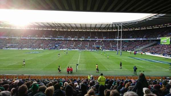 Murrayfield Stadium, secção: East 5