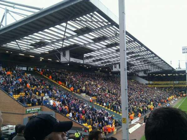Carrow Road, secção: Block E