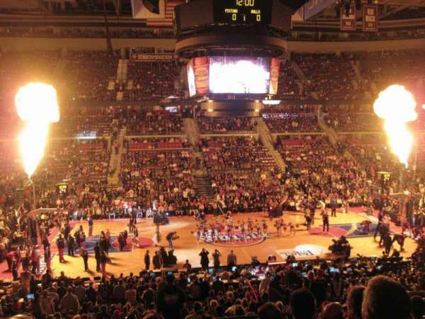 The Palace of Auburn Hills, secção: 114, fila: P, lugar: 10