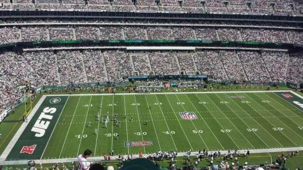 MetLife Stadium, secção: 340, fila: 15, lugar: 22