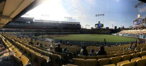 Dodger Stadium, secção: 42FD, fila: U, lugar: 8