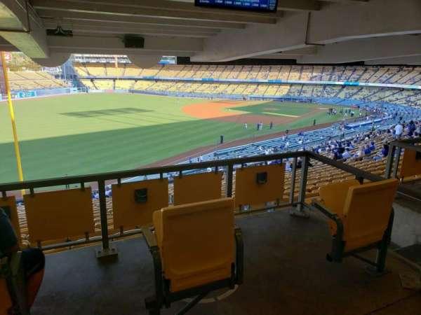 Dodger Stadium, secção: 161LG, fila: W, lugar: 2