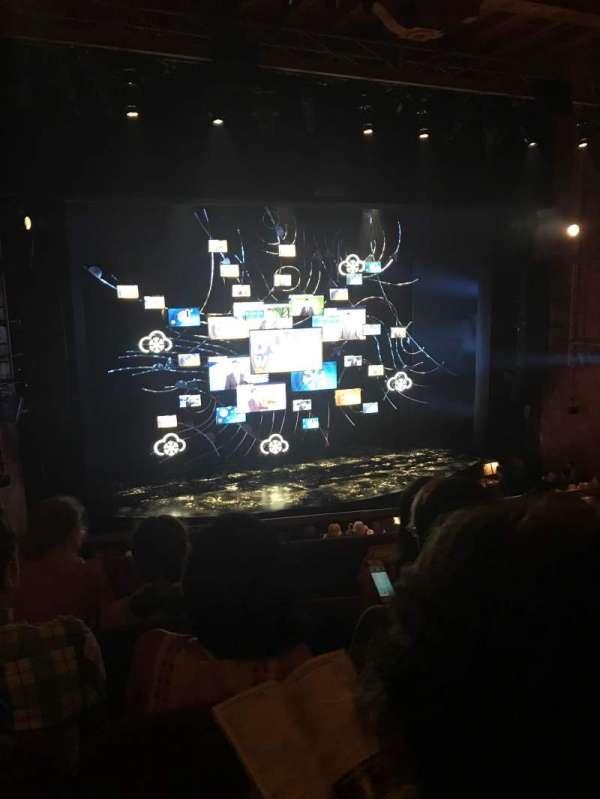 August Wilson Theatre, secção: Mezzanine L, fila: D, lugar: 5