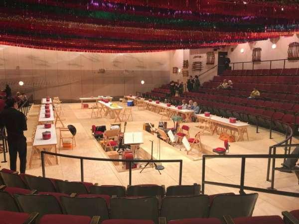 Circle in the Square Theatre, secção: Orchestra 100 (Odd), fila: F, lugar: 109