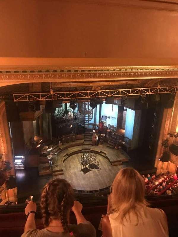 Walter Kerr Theatre, secção: Balcony, fila: 2, lugar: 9