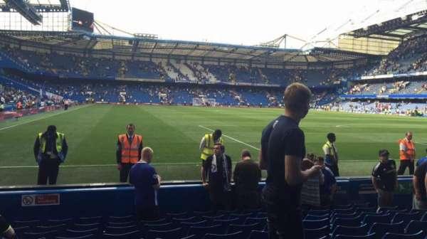 Stamford Bridge, secção: Shed End Lower 6, fila: 10, lugar: 162/163