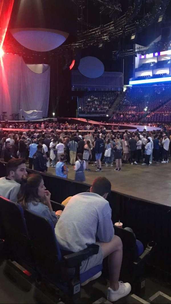 The O2 Arena, secção: 103, fila: F, lugar: 90