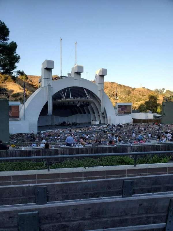 Hollywood Bowl , secção: K2, fila: 4, lugar: 105