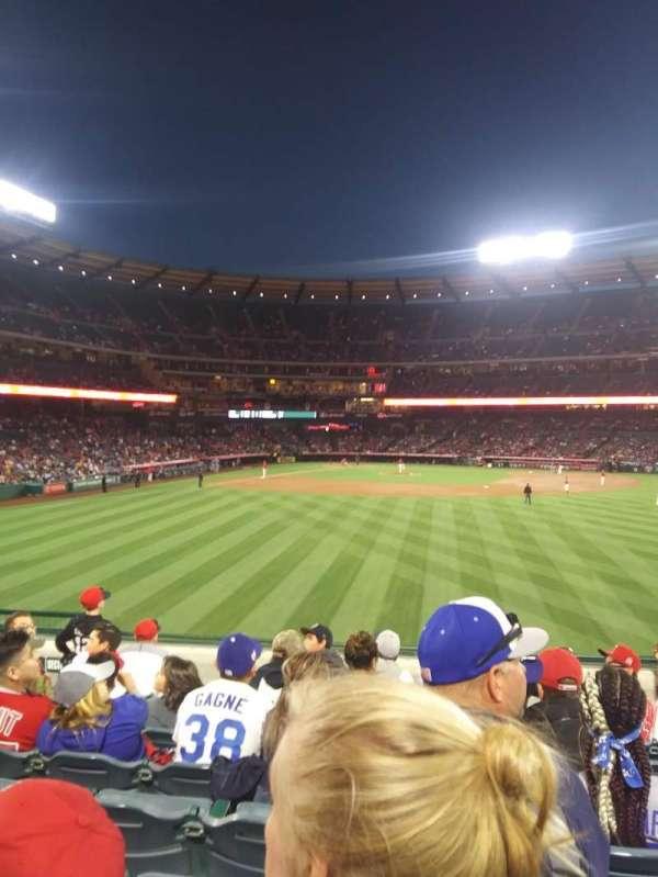 Angel Stadium, secção: P238, fila: H, lugar: 5