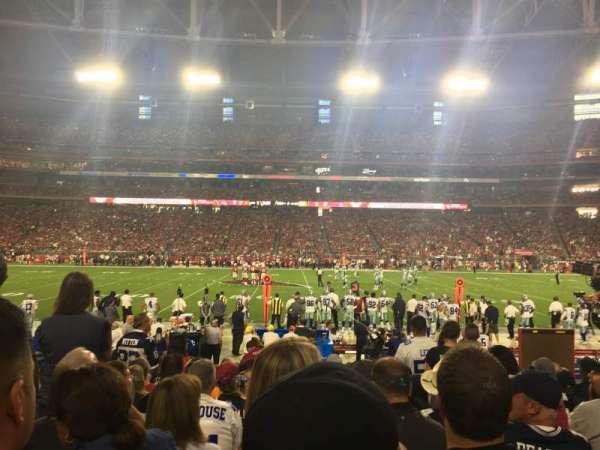 State Farm Stadium, secção: 129, fila: 11, lugar: 4