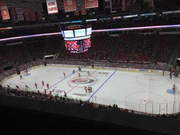 PNC Arena, secção: 302, fila: A, lugar: 12