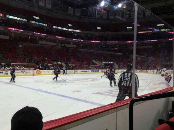 PNC Arena, secção: 121, fila: B, lugar: 2